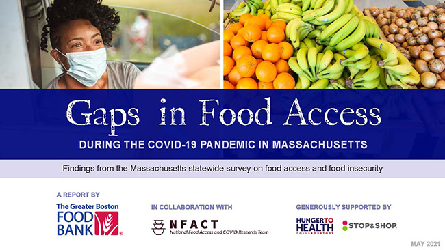Gaps in Food Access During the COVID-19 Pandemic in Mass.