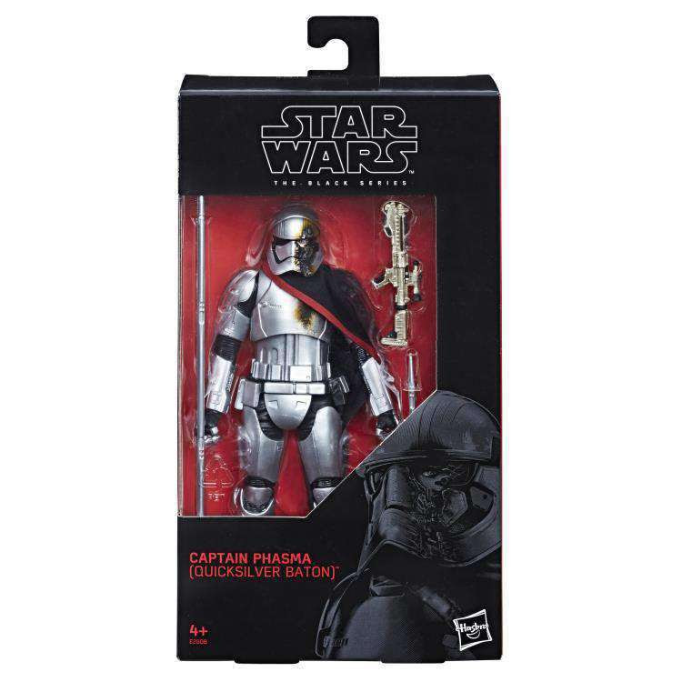 Image of Star Wars: The Black Series Captain Phasma (The Last Jedi) Exclusive - Q2 2019