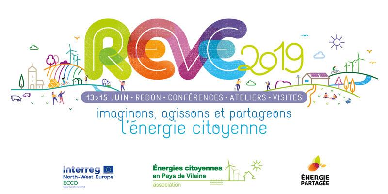 REVE 2019, les Rencontres européennes de l'énergie citoyenne