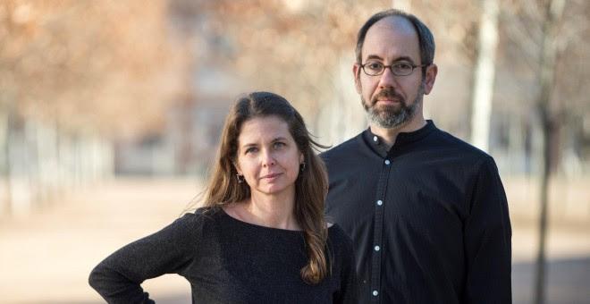Almudena Carracedo y Robert Bahar, directores de 'El silecio de otros'.-