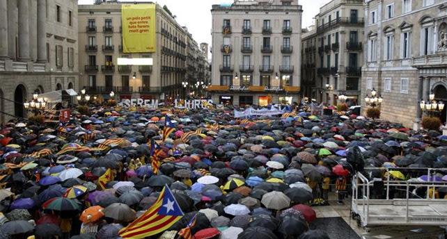Plaza Sant Jaume. EFE
