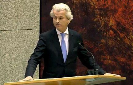 Image result for Geert Wilders/Foto/Staand