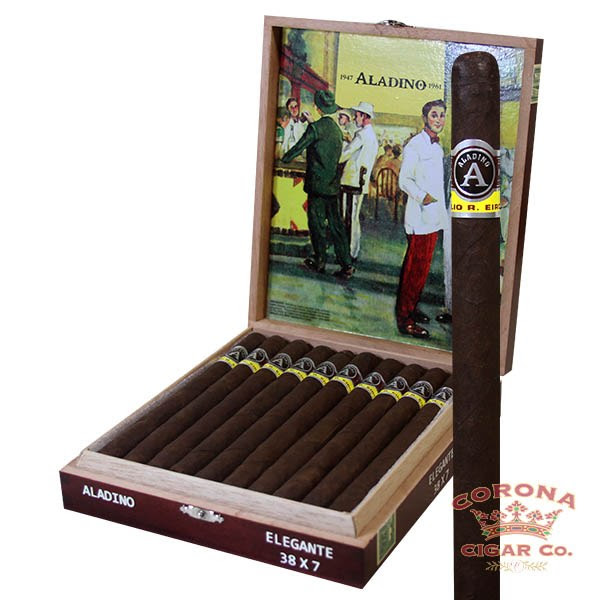 Image of Aladino Maduro Elegante Cigars