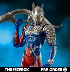 Ultraman Zero: The Chronicle threezeroX Akinori Takaki Ultraman Zero Figure