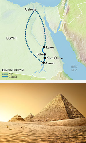 Essential Egypt: The Pyramids & a Nile River Cruise