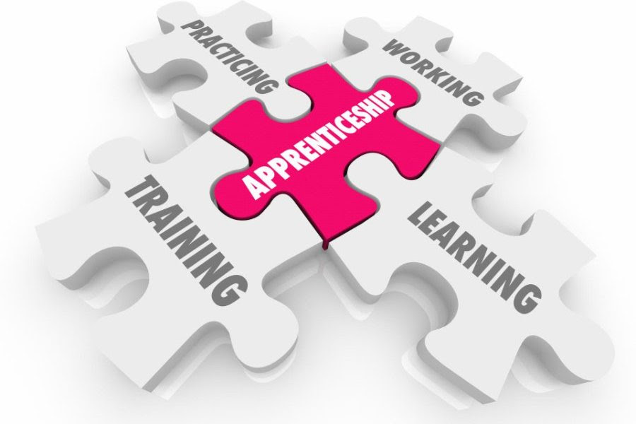 Puzzle pieces, apprenticeship, working, training, learning