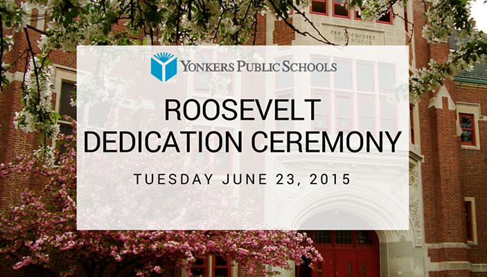 Roosevelt High School dedication ceremony