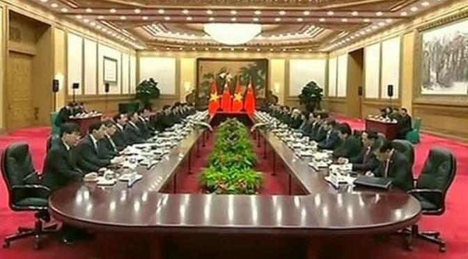 Nguyễn Phú Trọng xác nhận dâng hiến Việt Nam cho Trung Quốc