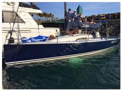J/88 Blue Flash- winner of Ensenada Race