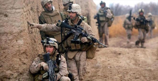 Soldados estadounidenses desplegados en Afganistán./ REUTERS