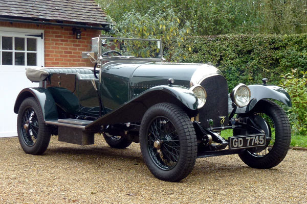1927 Bentley 3 Litre Speed Model Tourer
