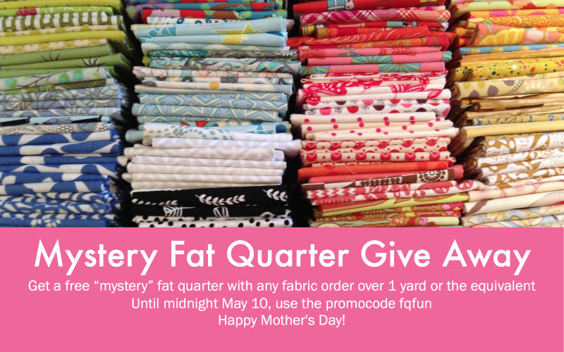Mystery Fat Quarter Event At Fabric Spark