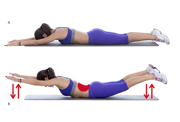 10 động tác giúp loại bỏ mỡ thừa vùng lưng và nách hiệu quả: Chị em nên tập để tự tin hơn - Ảnh 9.