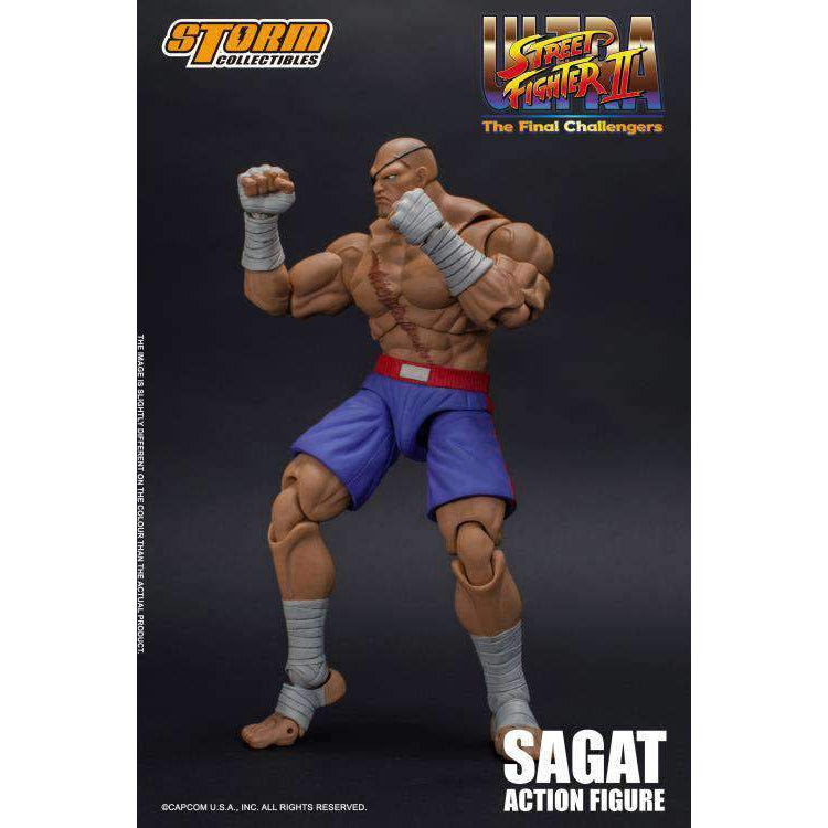 Image of Street Fighter II Sagat 1/12 Scale Figure - AUGUST 2019