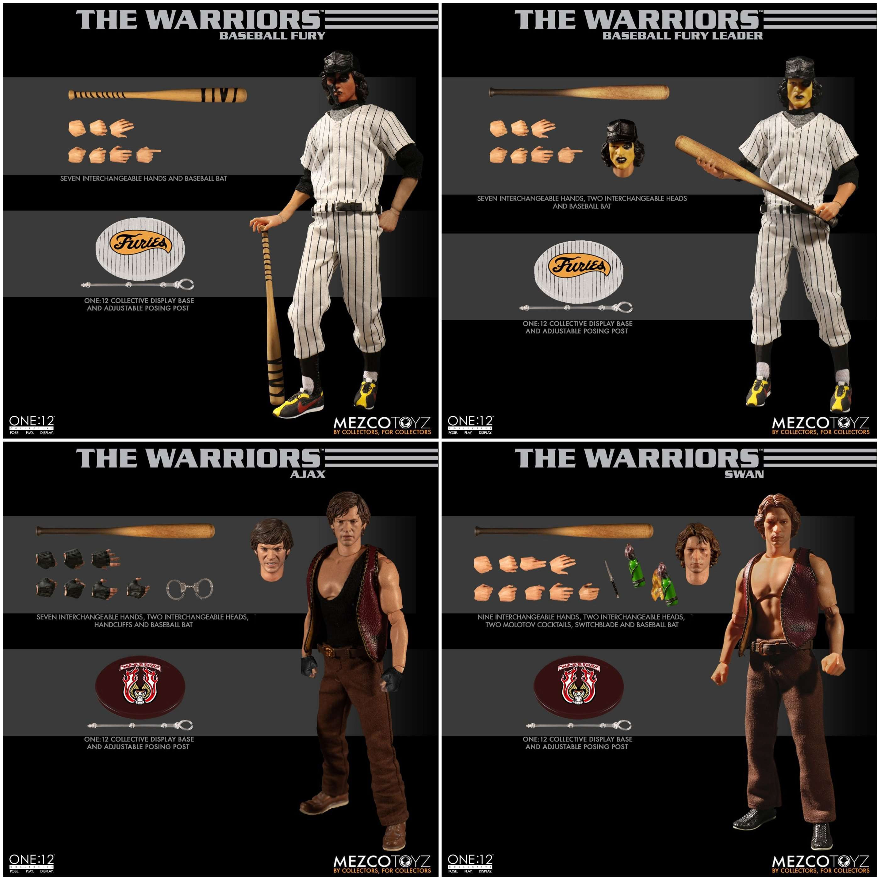 Image of The Warriors One:12 Collective Boxed Set - DECEMBER 2019