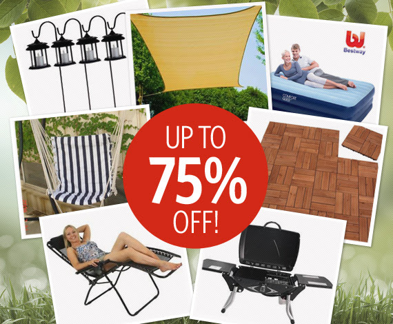 Save Up to 75% OFF Outdoor Living Range at DealsDirect.com.au