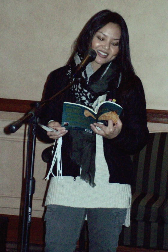 Guest reader Shirley Camia, a Toronto broadcast journalist (born in Winnipeg) shares work from her new collection The Significance of Moths (Turnstone Press, 2015).