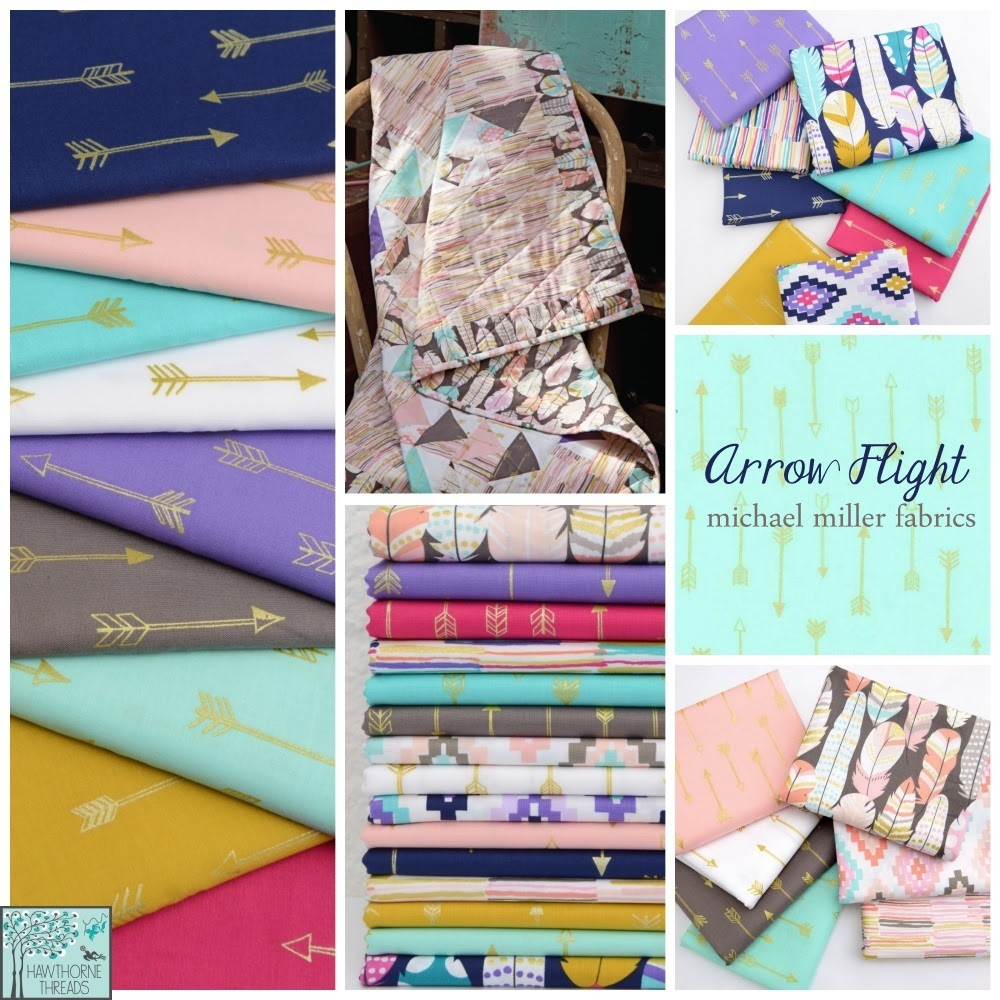 Arrow Flight Fabric Poster