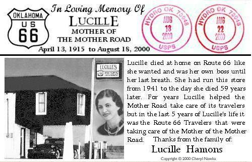 Lucille Postcard
