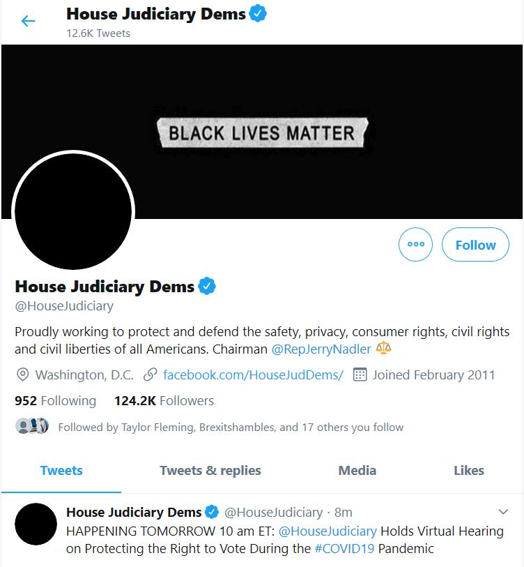 House Judiciary Homepage on Twitter