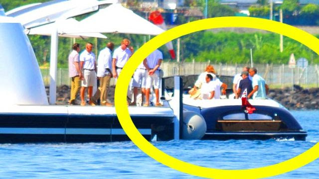 Obama Yachts with Oprah! (Video)