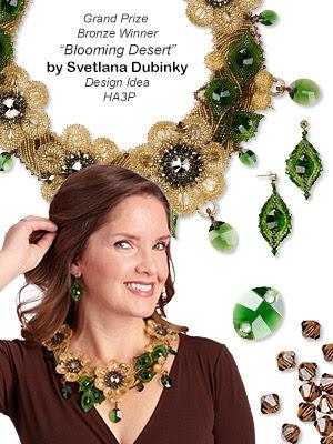 Single-Strand Necklace and Earring Set (Design Idea HA3P)