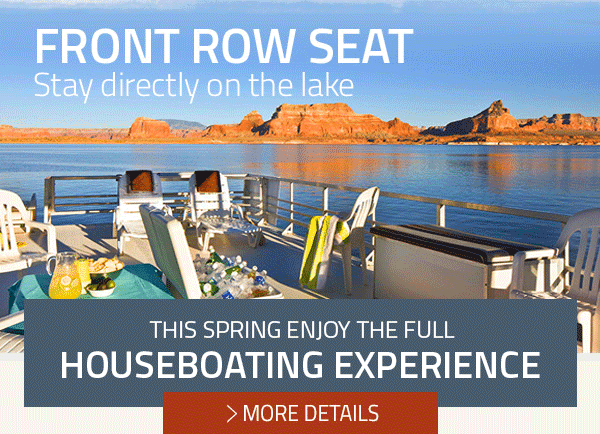HOUSEBOATING IS EVEN BETTER WHEN IT IS 50% OFF - MORE DETAILS
