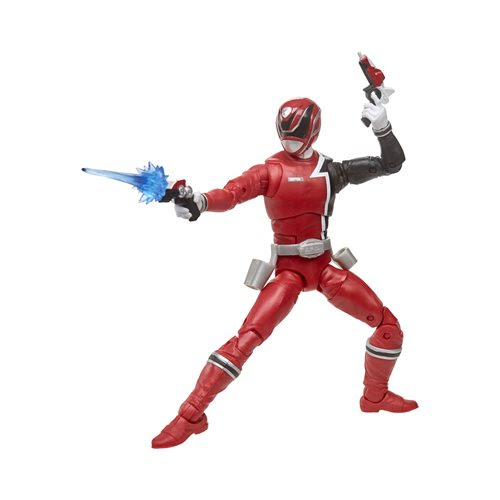 Image of Power Rangers Lightning Collection 6-Inch Figures Wave 4 - S.P.D. Red Ranger