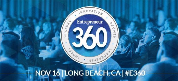 Take $100 off Entrepreneur 360™ Conference Tickets