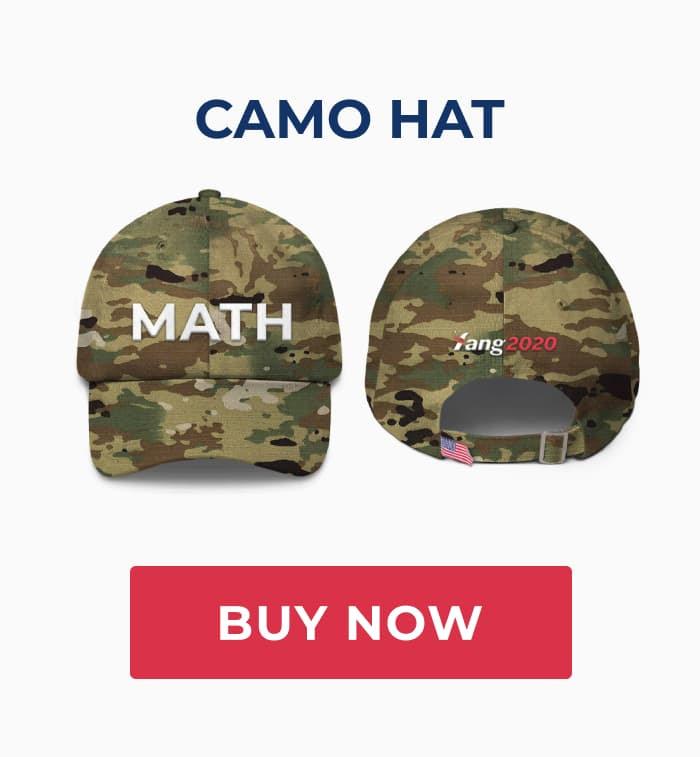 Camo MATH hat