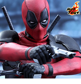 HOT TOYS MOVIE MASTERPIECE DEADPOOL