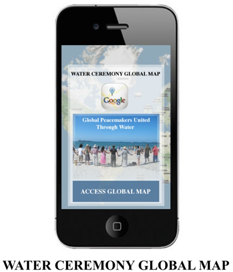 IMAGE: Global Water Ceremony Map