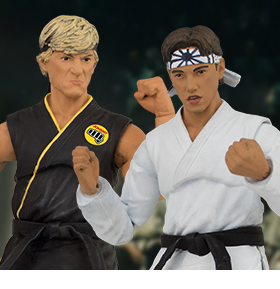 THE KARATE KID ACTION FIGURES