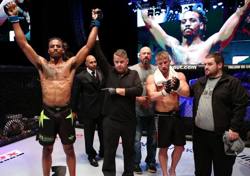 XKOA 36 Fight 2 - Joseph Holmes vs Allen Rose-23