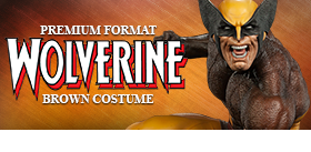 1/4 SCALE PREMIUM FORMAT WOLVERINE BROWN COSTUME