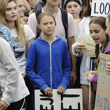 activist Greta Thunberg