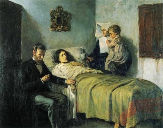 Pablo Picasso 1897 scienza e carità 16 anni.jpg