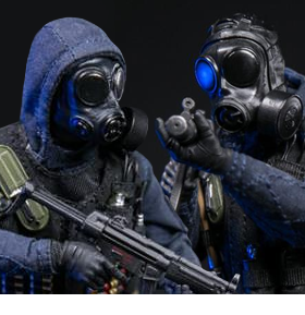 BRITISH SPECIAL FORCES POCKET ELITE SERIES 1/12 SCALE FIGURES