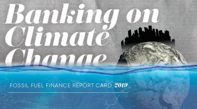 Banking on Climate Change report