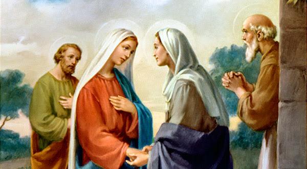 Meditemos sobre a alegria, a consolação e a santificação que acompanham o mistério da Visitação da Virgem Maria.