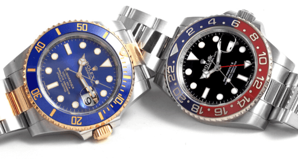Submariner and GMT Master