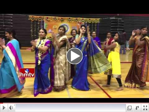 TTS Bathukamma Celebrations 2015 - HMTV
