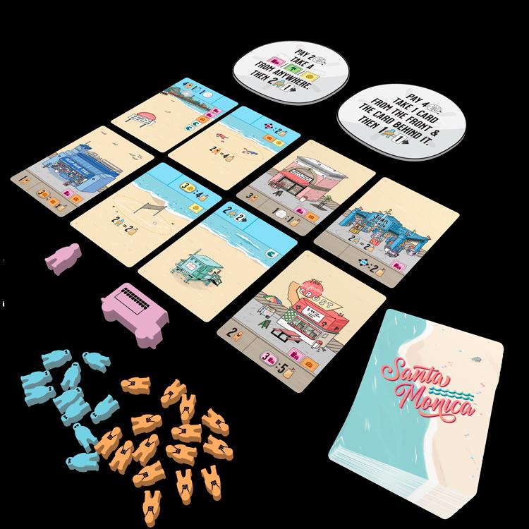 Santa Mónica juego de mesa