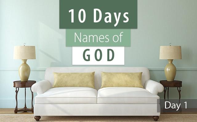 10 Names God