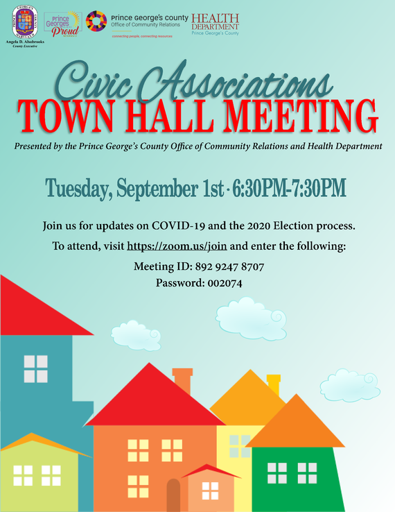 Civic Associations Town Hall
