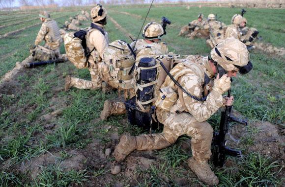OFENSIVA MILITAR DE LA OTAN EN AFGANISTÁN