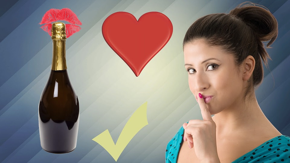 Vinho, Amor, Bebida, Romance, Pessoas, Jovem