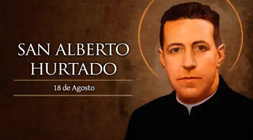 "Hoy la Iglesia celebra a San Alberto Hurtado, fundador de ""El Hogar de Cristo"""