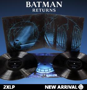Batman Returns Original Motion Picture Soundtrack Vinyl 2XLP