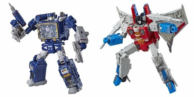 Transformers Generations Siege - Voyager Wave 2 Set of 2